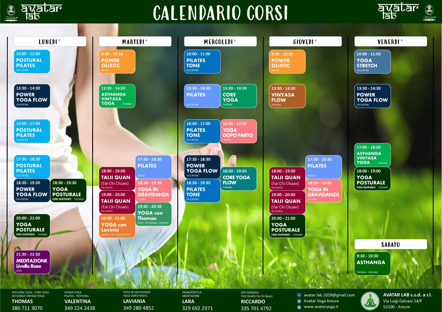 AVATAR - Orario Corsi (Settembre) (Large)_compressed